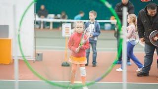 Детский новогодний праздник тенниса