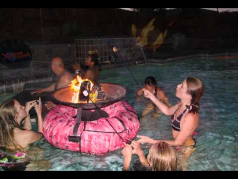 Floating Fire Pit Youtube