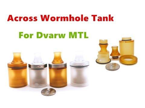 Across Vape Wormhole Tank Kit For Dvarw MTL RTA From Wejoytech