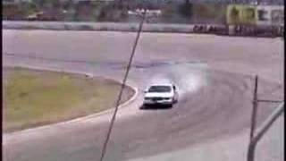 Lincoln Town Car Drifting at Orlando Speedworld