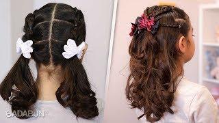 3 Increíbles peinados para niñas de cabello largo