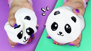 DIY Panda SQUISHY ♥ MAKE YOUR OWN SQUISHIES!
