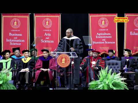 Tyler Perry at Tuskegee University Commencement 2016