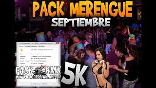 DESCARGAR PACK MERENGUE BAILABLE 2018