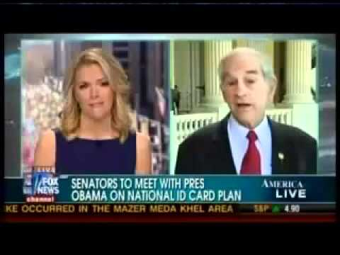 Ron Paul on FOXNews - Real ID Act