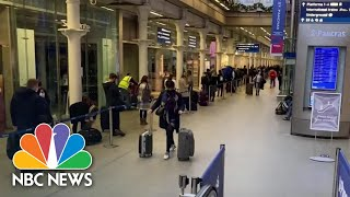 Executive Order Requires Travelers To The U.S. To Take Covid Test, Quarantine | NBC News NOW