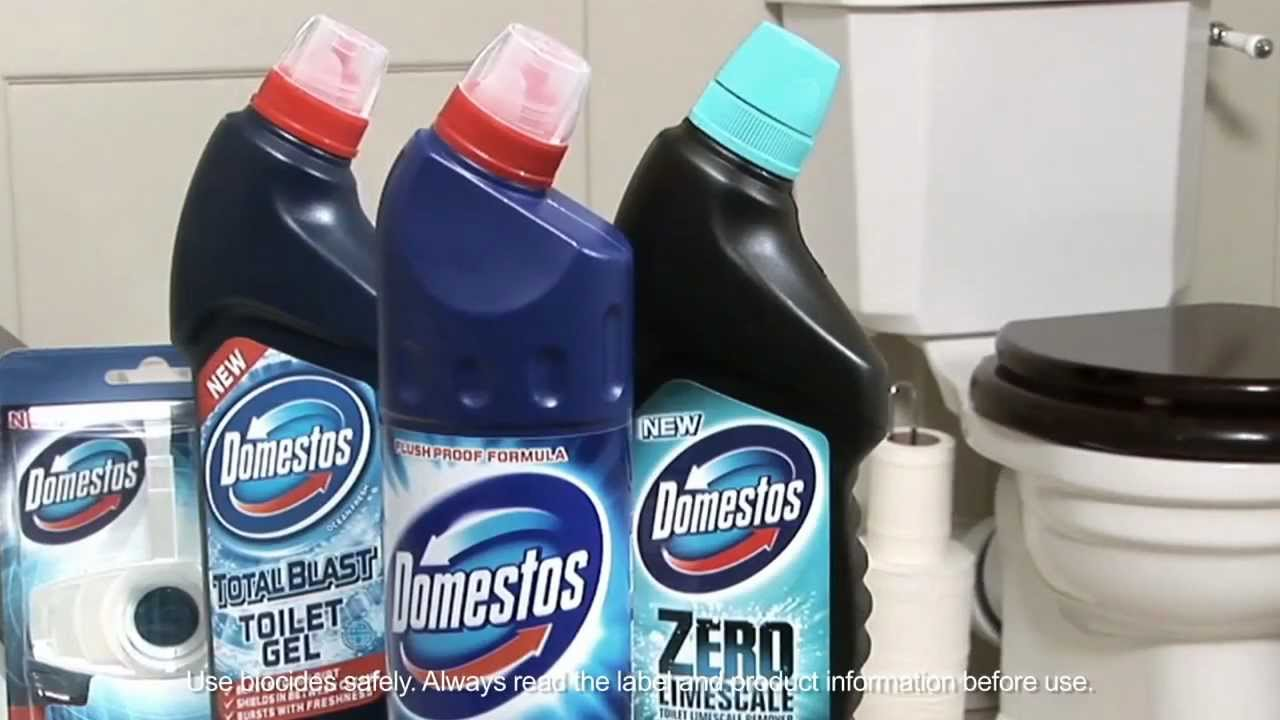 Domestos Toilet Cleaning System Youtube