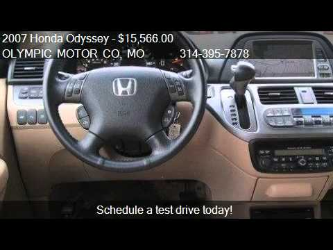 2007 Honda Odyssey Touring 4dr Minivan For Sale In