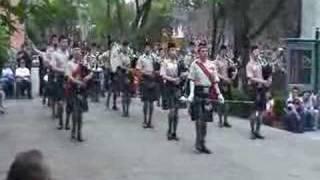 Banda de gaitas del Batallon de San Patricio MEXICO