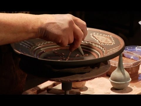 """The Potter's Art: Turning, Shaping and Decorating the Pottery of 'Art in Clay' "" by Mary Farrell"