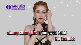 [ Karaoke HD ] Yêu Đi Rồi Đau - Võ Kiều Vân Full Beat ✔
