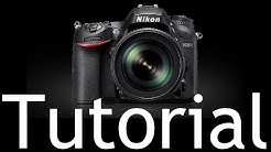 D7200 Overview Training Tutorial (also for Nikon D7100)