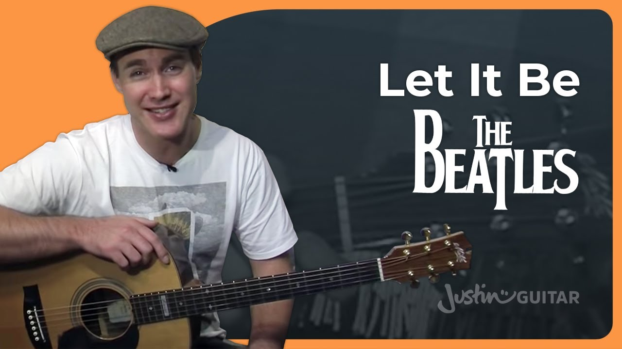 let it be the beatles easy songs beginner guitar lesson bs 910 how to play youtube. Black Bedroom Furniture Sets. Home Design Ideas