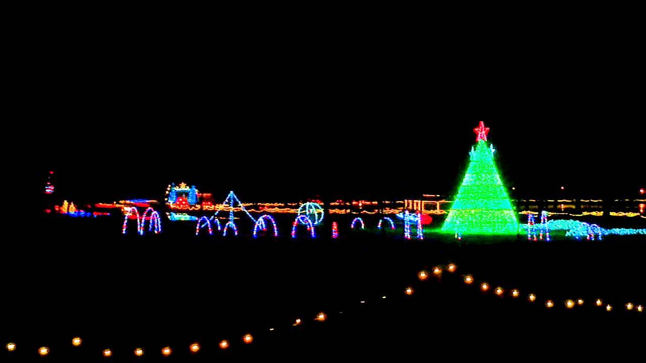 Honor Heights Park Christmas Lights 2020 Garden of Lights   Honor Heights Park, Muskogee   YouTube