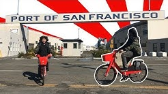 Chargin' at San Francisco Hills with electric Jump Bikes