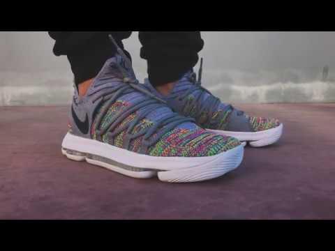 0a652b1877a Nike ZOOM KD10 Multicolor