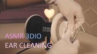 ASMR.라텍스 장갑 귀청소 Ear Cleaning w/ Latex Gloves(No Talking)(Binaural)