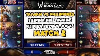 Wadaw tim filipina diketawain, bukan sama tim taiwan tapi sama diri...