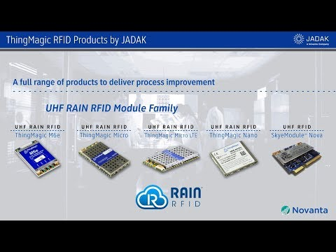ThingMagic RFID Products by JADAK