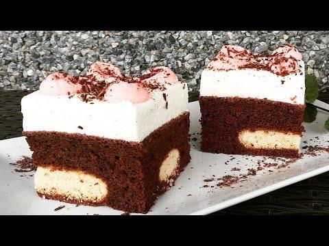 Prajitura cu ciocolata si crema de mascarpone