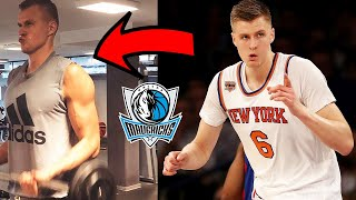Kristaps Porzingis GOT HUGE with GIANNIS LIKE Muscle Mass TRANSFORMATION! Luka looks Leaner!