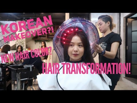 VLOG #3: HAIR TRANSFORMATION FT. RINA AND BOSS PREMIUM HAIR SALON | Claire Fabian