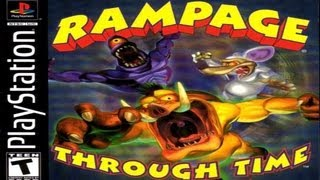 Awful Playstation Games: Rampage Through Time Review