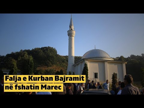 Falja e Kurban Bajramit në fshatin Marec