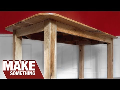 How To Make A Dining Table | Easy Woodworking Project