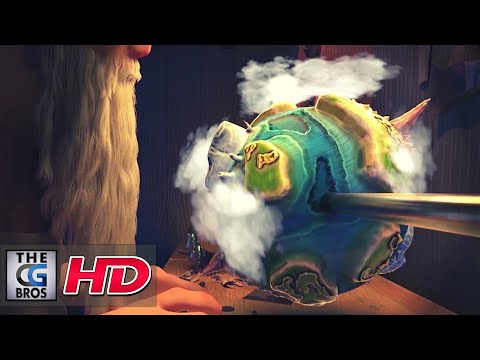 """CGI 3D Animated Short: """"Crafted"""" - by Holly Partridge 