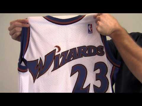 buy popular ee159 768ab Michael Jordan Autographed Washington Wizards Jersey - UDA