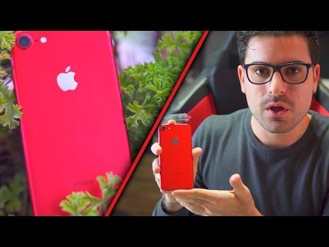HO COMPRATO L'IPHONE 7 ROSSO!!