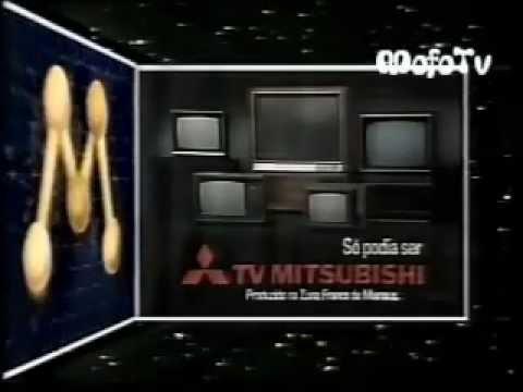 Vinheta: Rede Manchete - Patrocínio do TV Mitsubishi (1987)