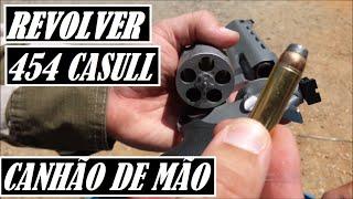 REVOLVER MAIS FORTE do BRASIL - TAURUS .454 CASULL - VAROU 2 VIDROS BLINDADOS - RT454 - RAGING BULL