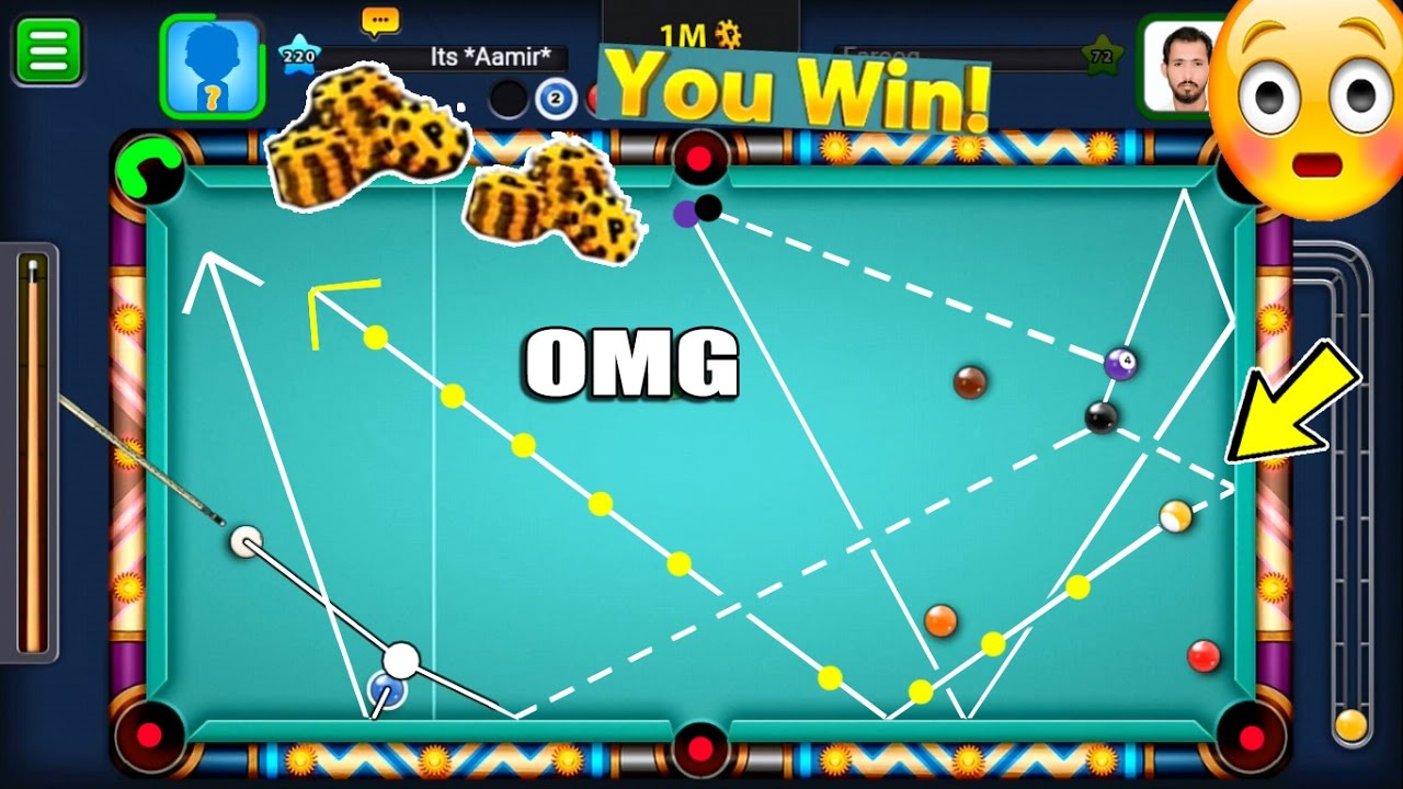 BEST 9 BALL POOL WIN IN HISTORY - 8 Ball Pool OMG Moment [Funtastico #4]