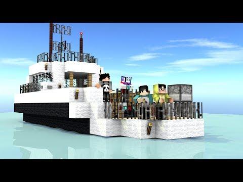 4brothers jalan-jalan nyantai! [Minecraft Music Animation]