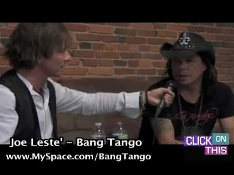Click On This  Johnny Alonso w Joe Leste' from Bang Tango  Part 1