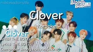 THE BOYZ - Clover Karaoke/노래방