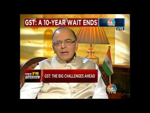 GST Rollout: Miles To Go. FM Arun Jaitley Speaks Exclusively To CNBC-TV18