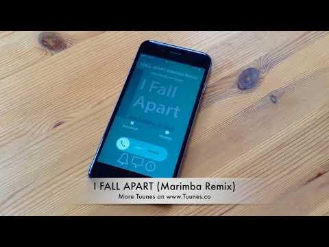 I FALL APART Ringtone - Post Malone Tribute Marimba Remix Ringtone - For iPhone & Android