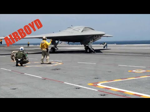 X-47B Launch And