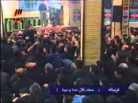 روز عاشورا  مسجد بلال حاج احمد واعظی Day of Ashura Ahmad Vaezi
