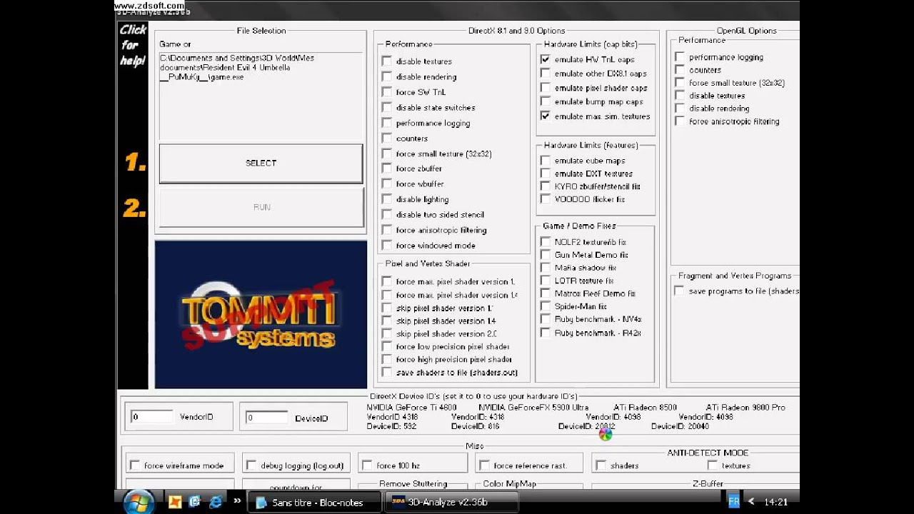 Download 3D Analyzer free