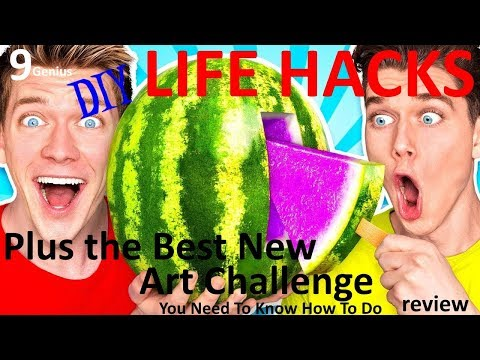 9 genius D-I-Y life hacks plus the best new art challenge - review - Collins Key