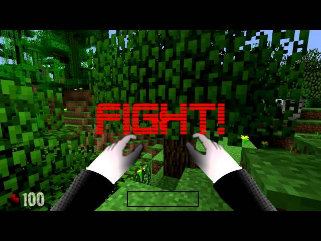 GAME BATTLE - SLENDER VS. MINECRAFT GUY Travel Video