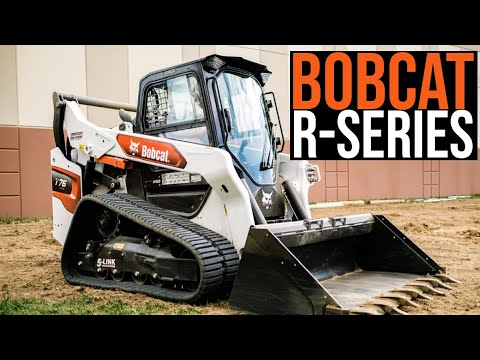 Bobcat Unveils Redesigned R-Series Skid Steers And Compact Track Loaders