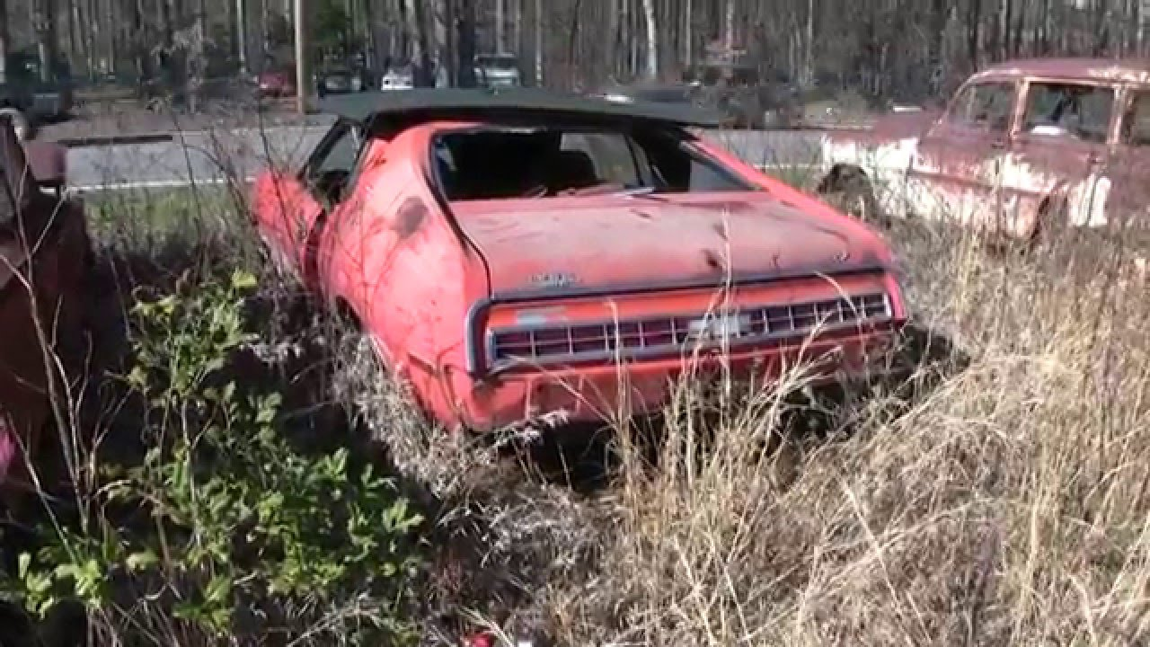 67 Nova: North Carolina Classic Car Junkyards - YouTube