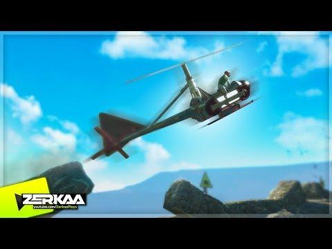 CUSTOM HELICOPTER BIKE IN TRIALS! (Trials Evolution)