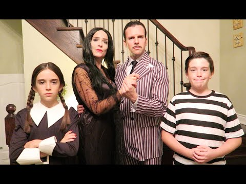 addams family daughter
