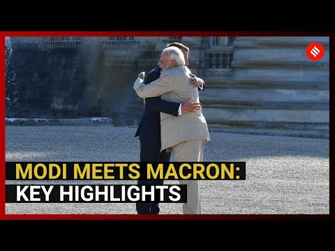PM Modi meets Macron, talk Kashmir, Rafale and More